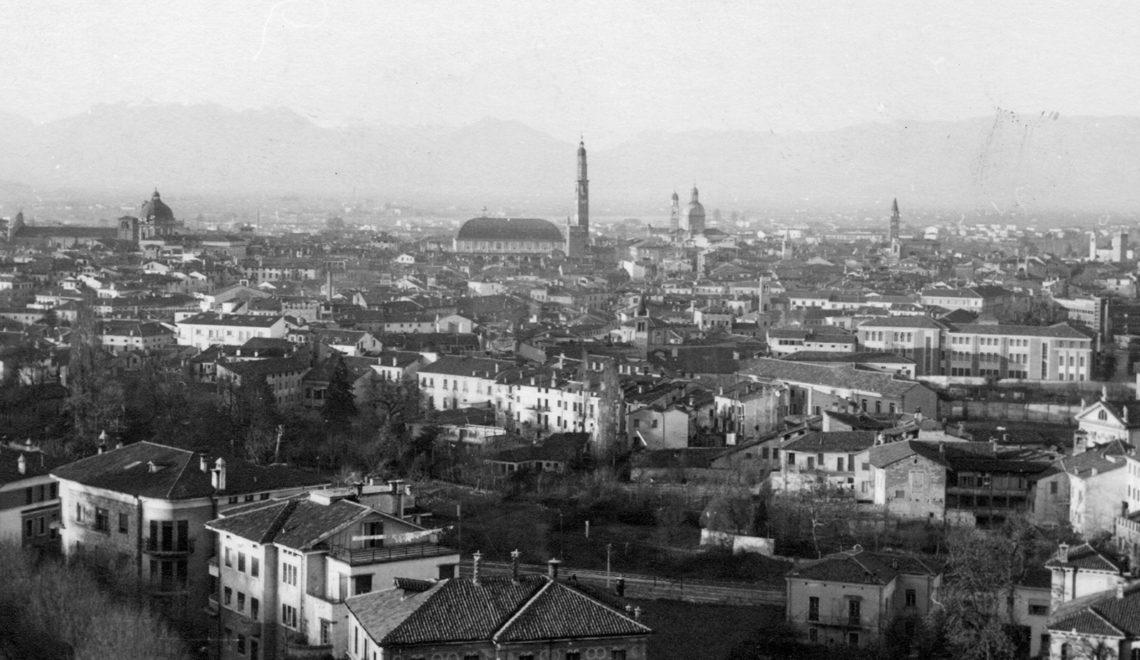 Panorama di Vicenza, in volo sulla città