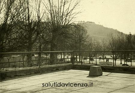 Panorama dalla terrazza del Caffè Moresco, anni sessanta