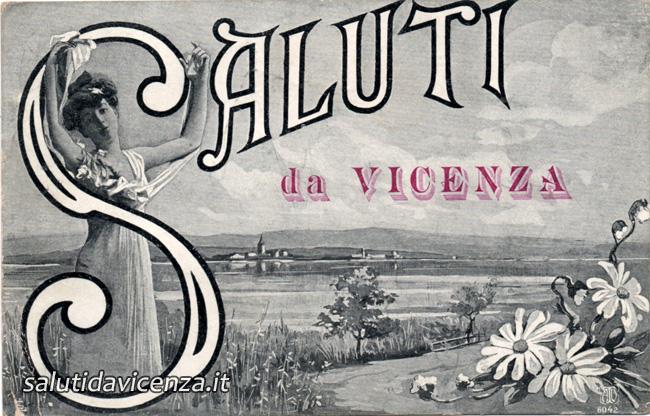 Saluti da Vicenza, antiche cartoline da collezione