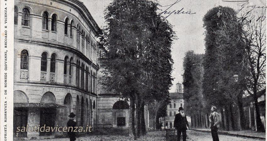 Cartoline da collezione, un saluto da Vicenza. Il Teatro Verdi nel primo Novecento