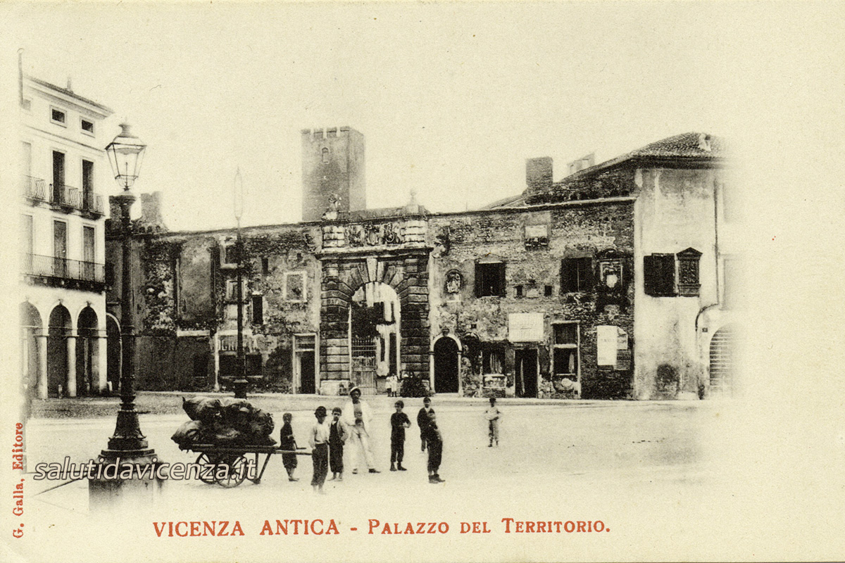 Portale del Teatro Olimpico (1900)