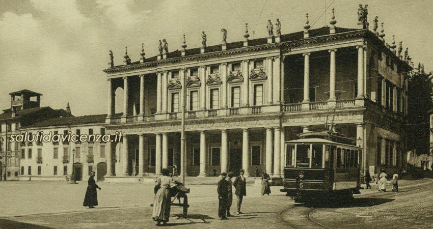 Cartoline da collezione, un saluto da Vicenza. Palazzo Chiericati
